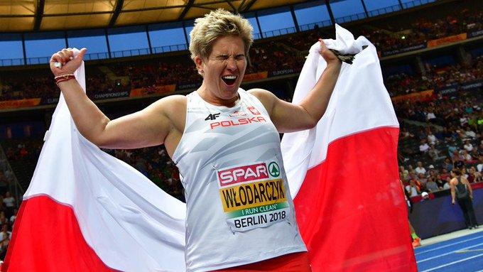 I @AnitaWlodarczyk wygrała! Yes! Brawa za brąz dla Joanny Fiodorow. #Berlin2018. Żebyście słyszeli francuskich komentatorów [Francuzka ze srebrem]: No tak, Włodarczyk wyszła i pozamiatała... Photo