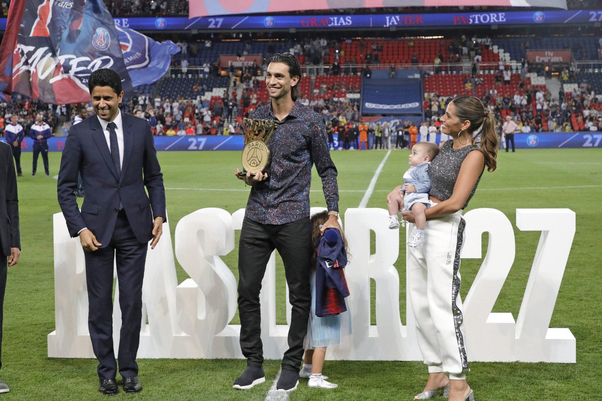 Thank you, @Javi_Pastore! 😘 This will always be your home 🏡 🙌 #Pastore27