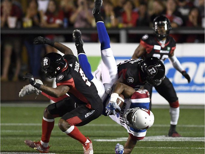 Redblacks remained resilient in frustrating win over Als Photo