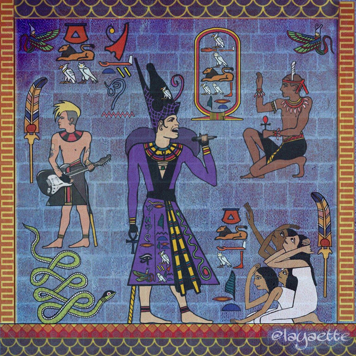 My wall for your Entertainment #glamberts #adamlambert #fanart #foryourentertainment #glamnation #heiroglyphics #Egyptian #style @adamlambert @LoveMrSpencer @TommyJoeRatliff<br>http://pic.twitter.com/ylnr5tOfqA