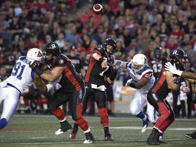 Conquering adversity key for Redblacks in win over Als Photo