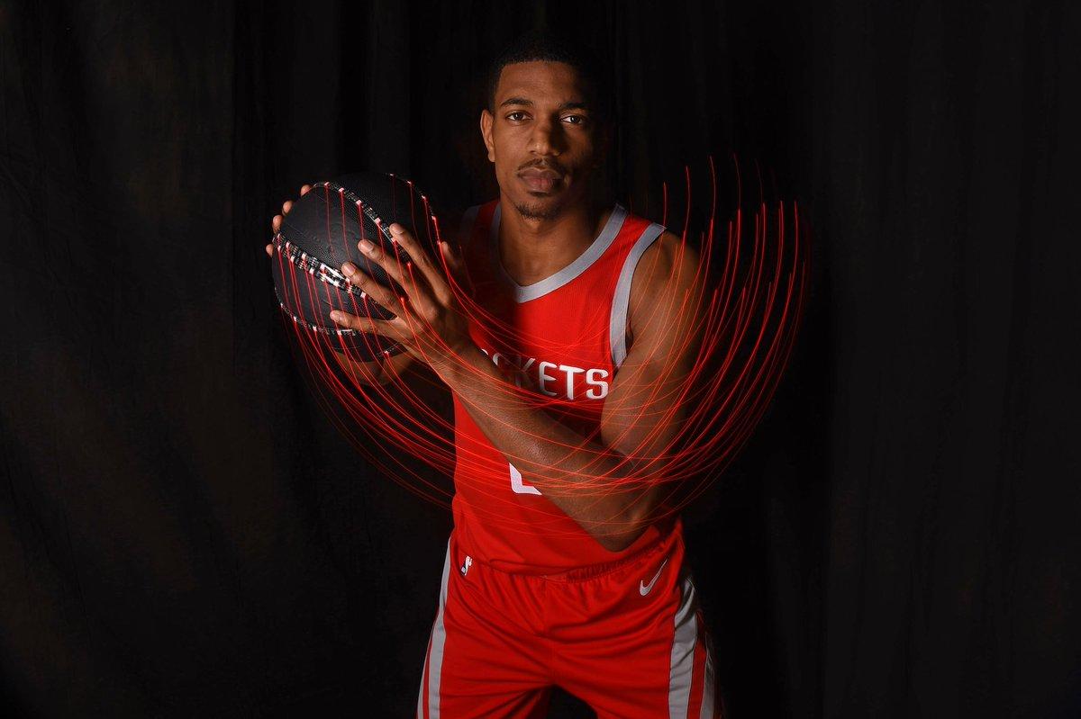 .@DeAnthonyMelton representing at the #NBARooks photo shoot! 🚀 📸 » bit.ly/RookiePhotos