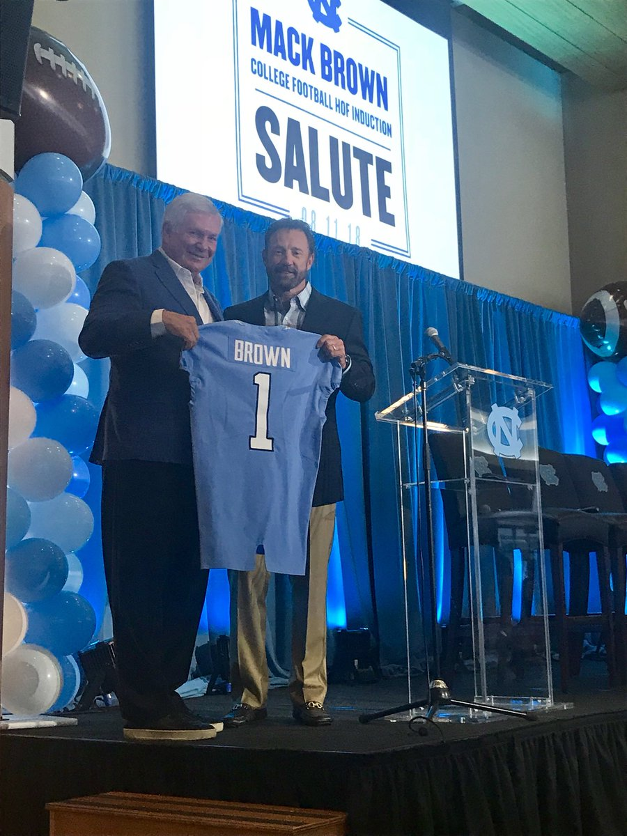Congratulations @ESPN_CoachMack on your well-deserved induction into college football hall of fame. On & off the field you impacted so many players & students as coach of @TarHeelFootball! https://t.co/chCxIifeUK