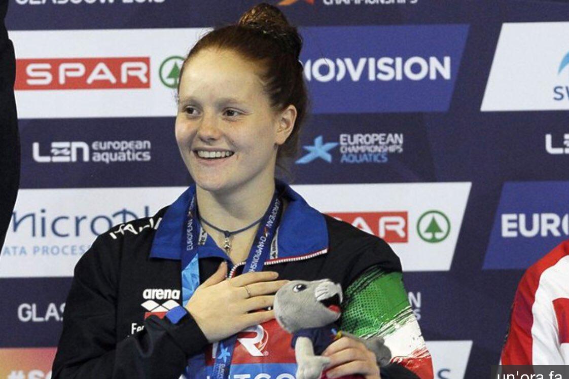 Un oro a 15 anni. La stoffa della campionessa. Ora però, piccola grande romana, goditi questo oro e i tuoi 15 anni senza troppe pressioni! #Pellacani #Europei #Tuffi  - Ukustom