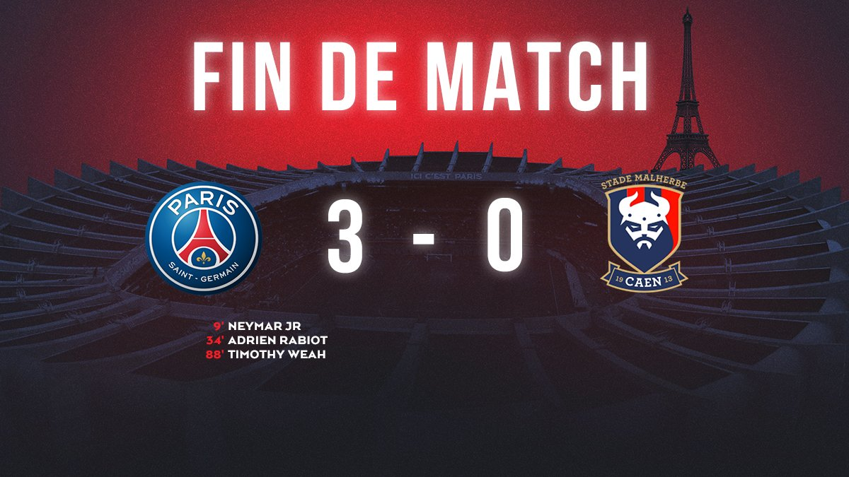 PSG-Caen