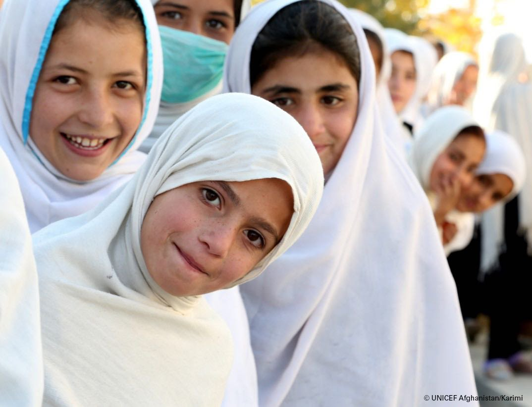 Without a threat of violence in their lives, girls can develop to their full potential, becoming empowered women shaping a better future. The potential for positive change is enormous! Lets #endviolence against girls & boys. @un pic:@unicefafg @sdg2030 v/@srsgvac
