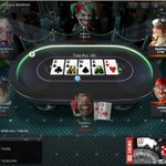 Image for the Tweet beginning: learn poker risk free -
