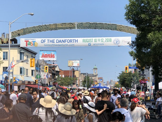 #TasteoftheDanforth Photo