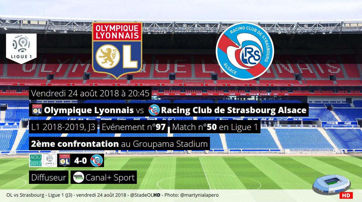 Prochain rendez-vous au Groupama Stadium:Olympique Lyonnais - StrasbourgDéjà le 50ème match de Ligue 1 à Décines !  - FestivalFocus