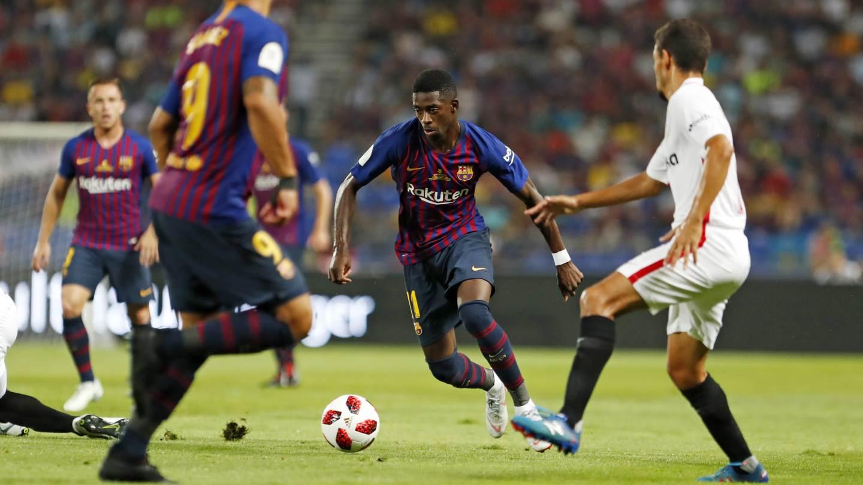 Sevilla vs Barcelona 1-2 Highlights