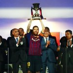 Lionel Messi Twitter Photo