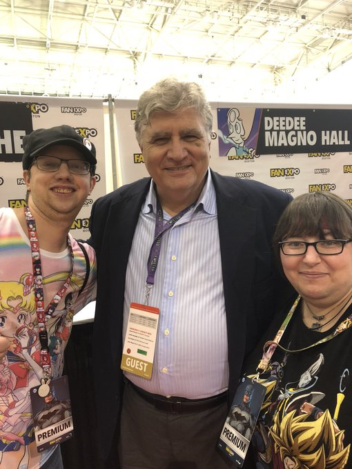 @MAURICELAMARCHE very great meeting you at #FXB2018 this year #TakeOverTheWorld Photo