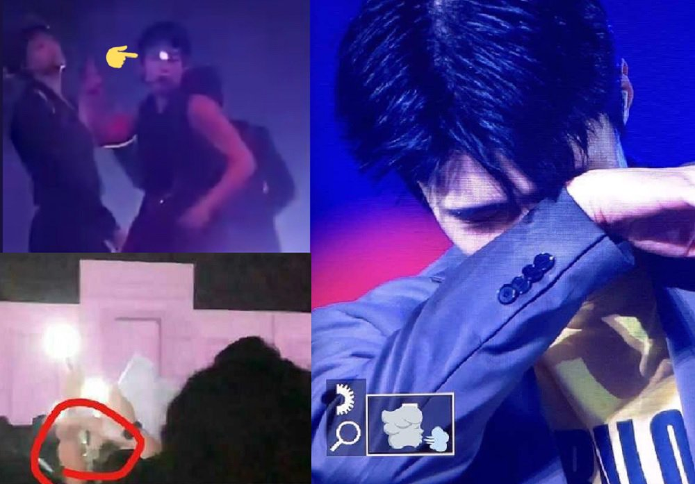 Fans express rage as EXO members get attacked by laser pointers during concert  https://t.co/TqOBxpkG84 https://t.co/is2VHsoFeq