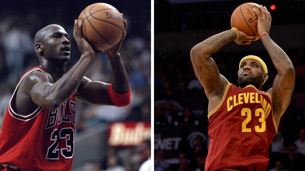 LeBron James o Michael Jordan: ¿quién es el mejor jugador de la NBA en la historia?  https://t.co/zakonfVVyN https://t.co/UqJXVj4P3h