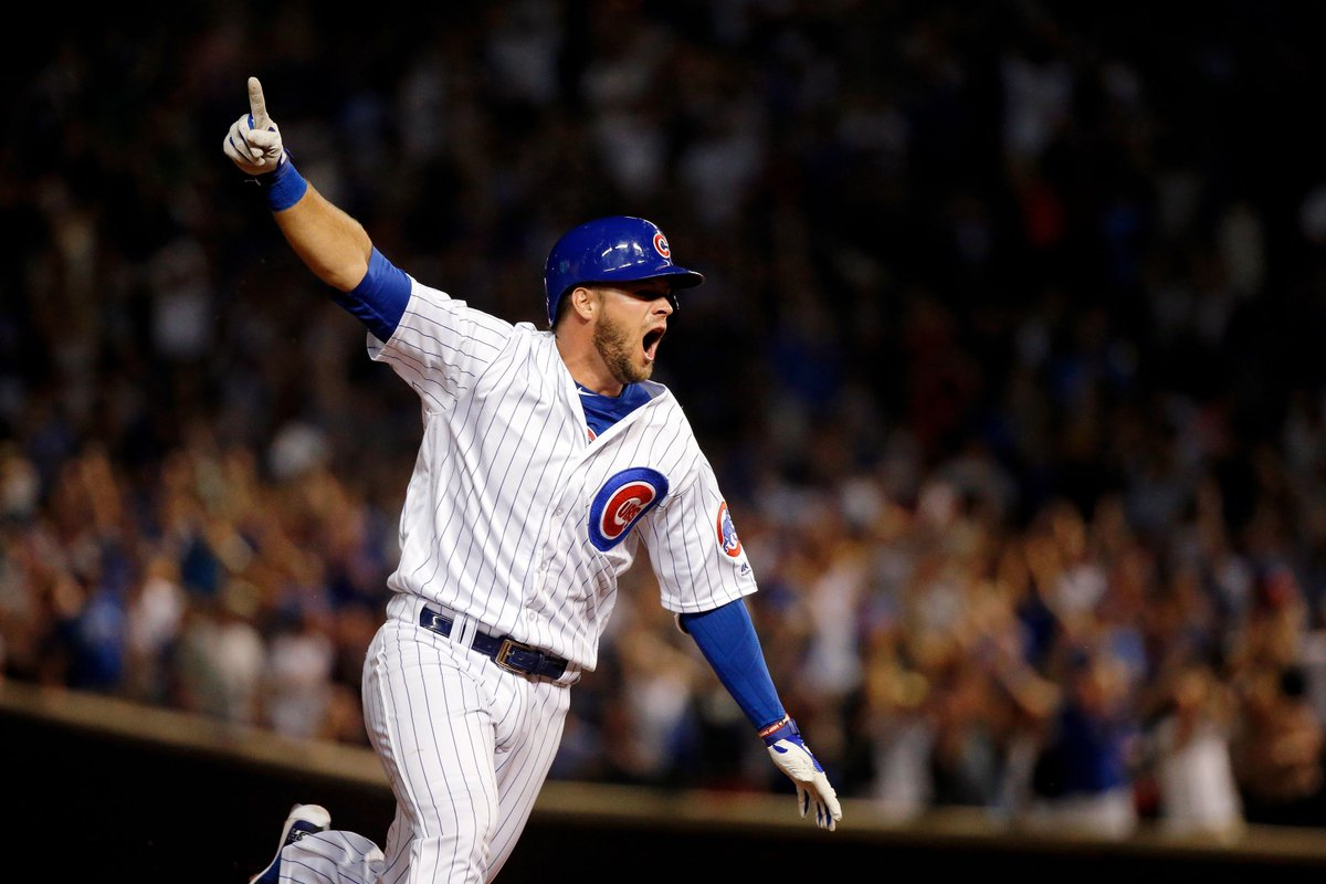 Cubs win! Cubs win! *Extremely Harry Caray voice*