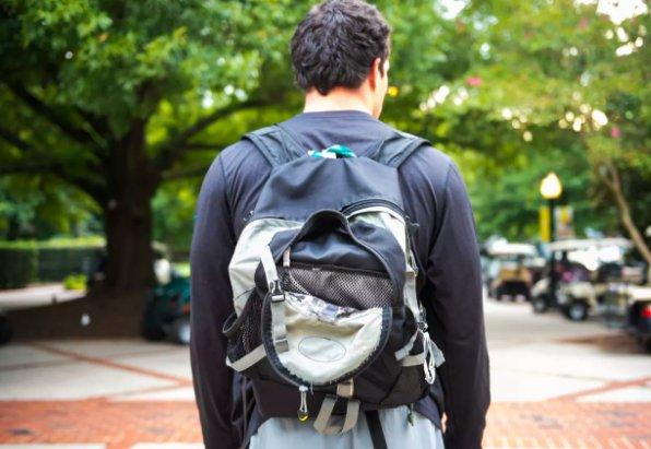 The story behind Luke Kuechly's infamous backpack ��  ��» https://t.co/ehfjsrunDv https://t.co/3epODhxpg1