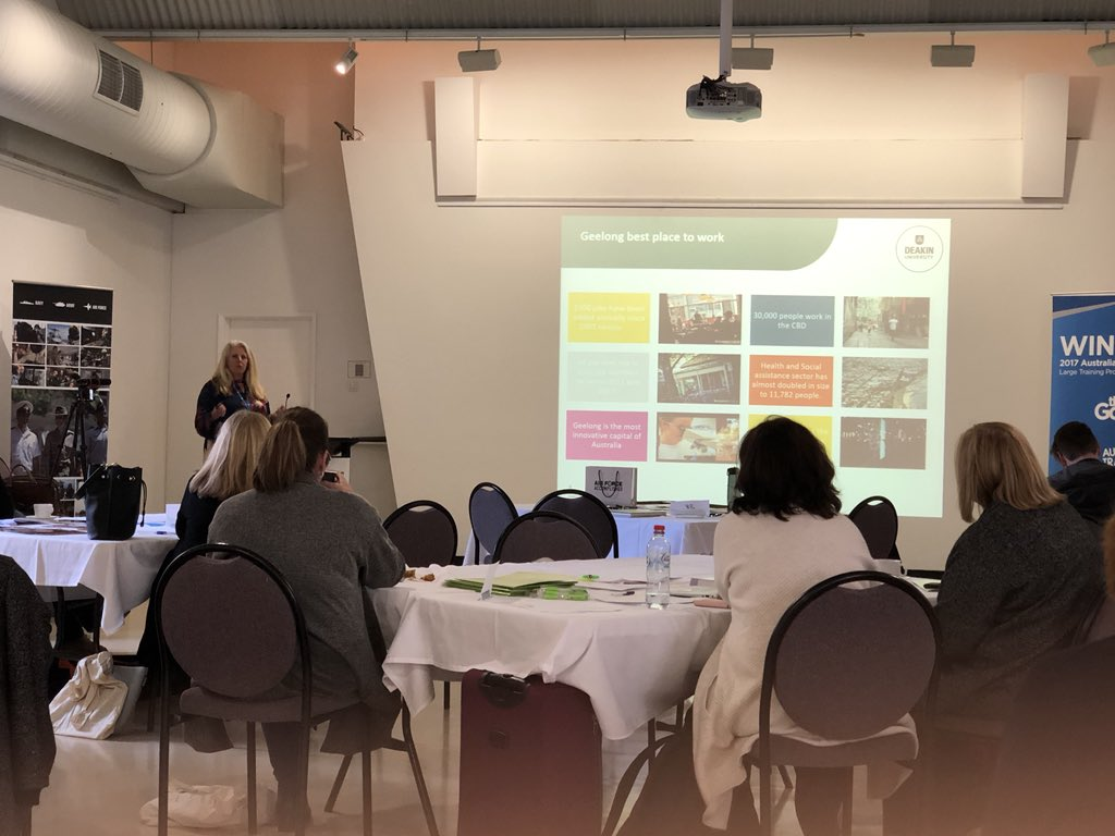 test Twitter Media - Learning about the current careers landscape in Geelong, thank you to Christine Shaw from @Deakin for the insights! #ACSSeminars https://t.co/rMCRpsWpC3