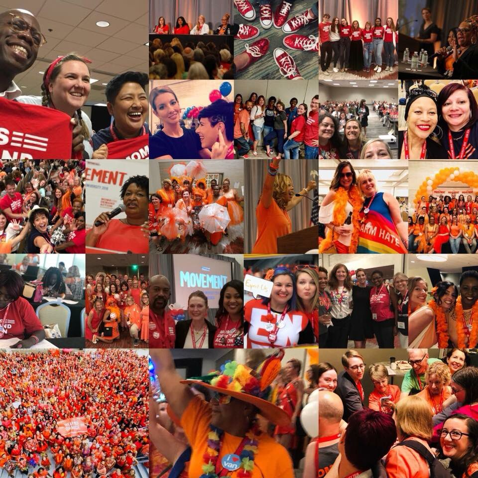 It's hard to describe #GSU18 &amp; my work with @MomsDemand because it's so full of sadness, joy, empowerment, motivation, &amp; belonging. It's easy to get lost in the weeds, to only see despair &amp; heartbreak. This weekend reminded me this is a movement. We are winning. #ExpectUs<br>http://pic.twitter.com/pyILx9gz9e