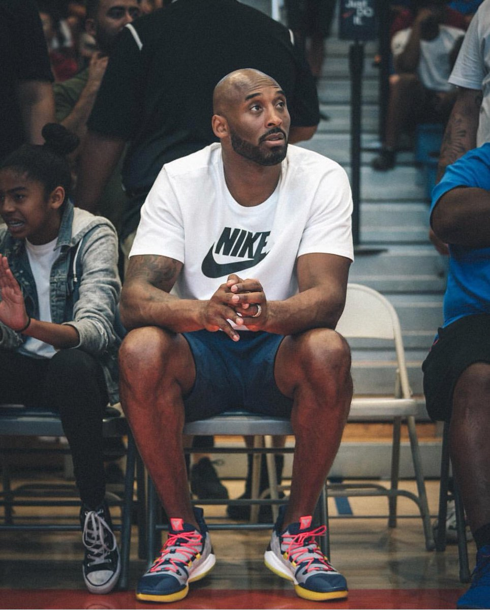 3a1c9723c60b kobebryant at drewleague wearing the next nike kobe ad releasing mamba day  august 24