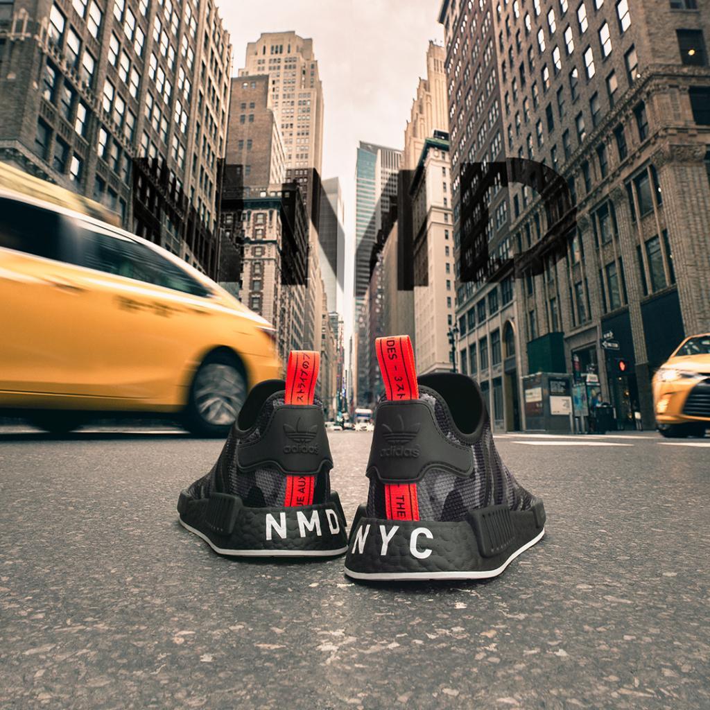 NYC. #adidas NMD Printed Series