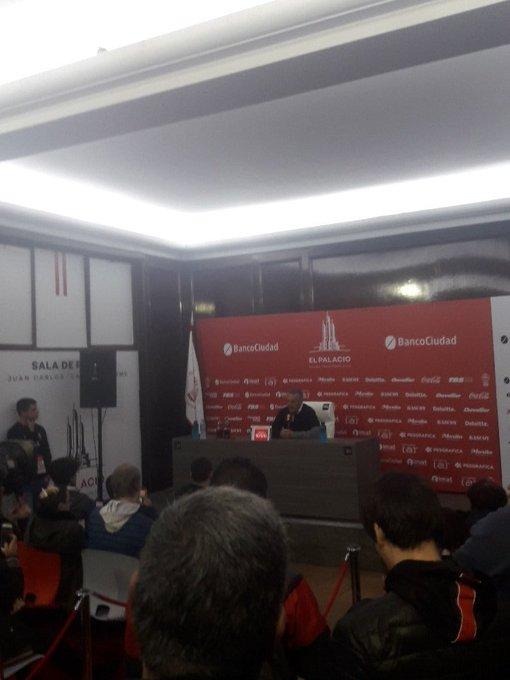 #Huracán Alfaro: Gabriel Guerra se realizará la revisión médica en el día de mañana. Foto