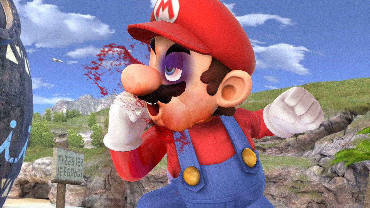 Nintendo Reveals 'Smash Bros. Ultimate' Will Allow Characters To Repeatedly Punch Self In Face To Freak Out Opponent https://t.co/bPiICN8bJC
