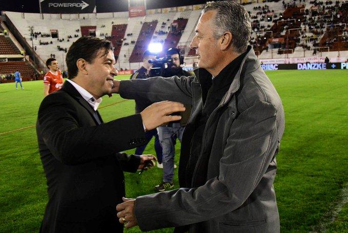 #Superliga Alfaro valoró el resultado a pesar del flojo rendimiento: Jugamos el mejor partido que podíamos jugar ➡ Foto
