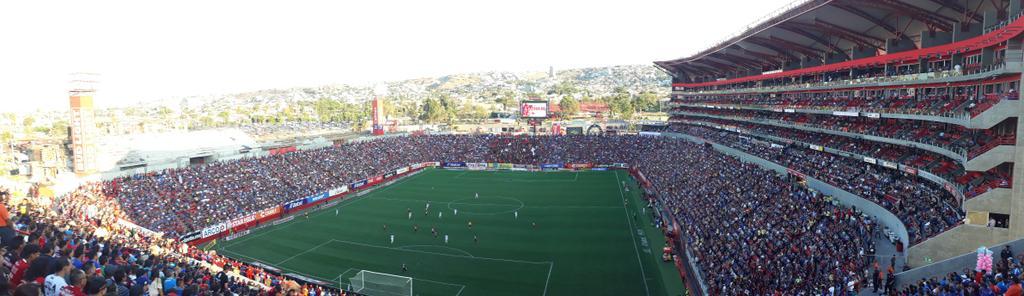 Tijuana empató 1-1 en contra del Cruz Azul