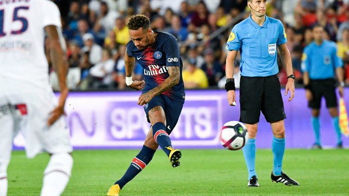 WATCH: Neymar shines as PSG begin Ligue 1 title defence in style Photo