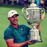 Image for the Tweet beginning: Brooks Koepka followed up his
