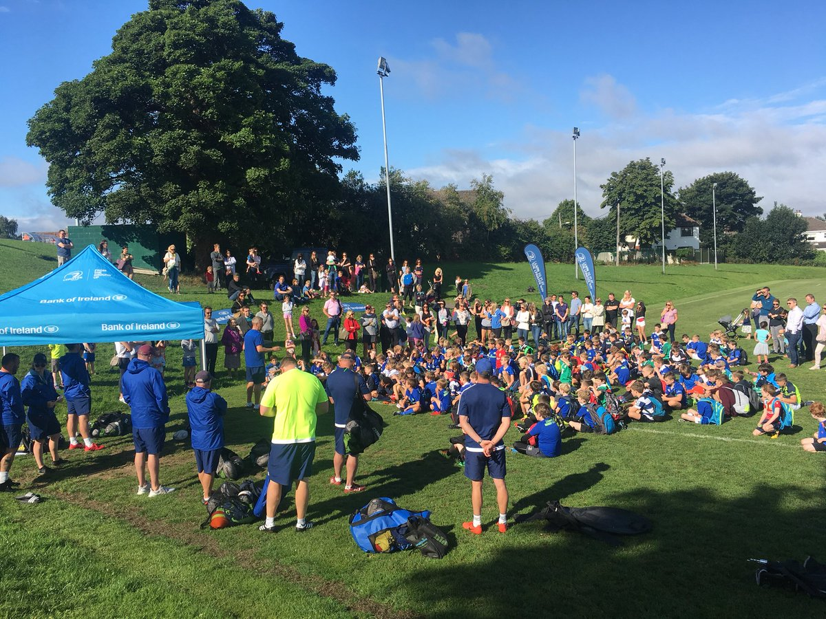 Great start to the BOI @BCRFC @LeinsterBranch summer camp. @jdsharks having the day 1 talk with the parents and kids #FromTheGroundUp <br>http://pic.twitter.com/hOuDcIedgV