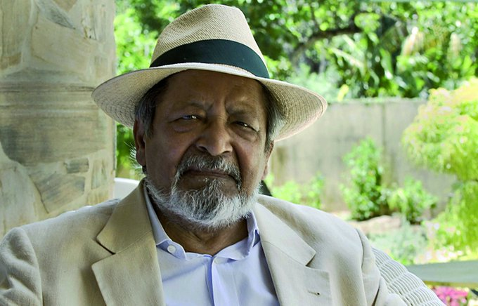 ".@panmacmillan has paid tribute to the ""great and controversial"" author V S Naipaul: Photo"