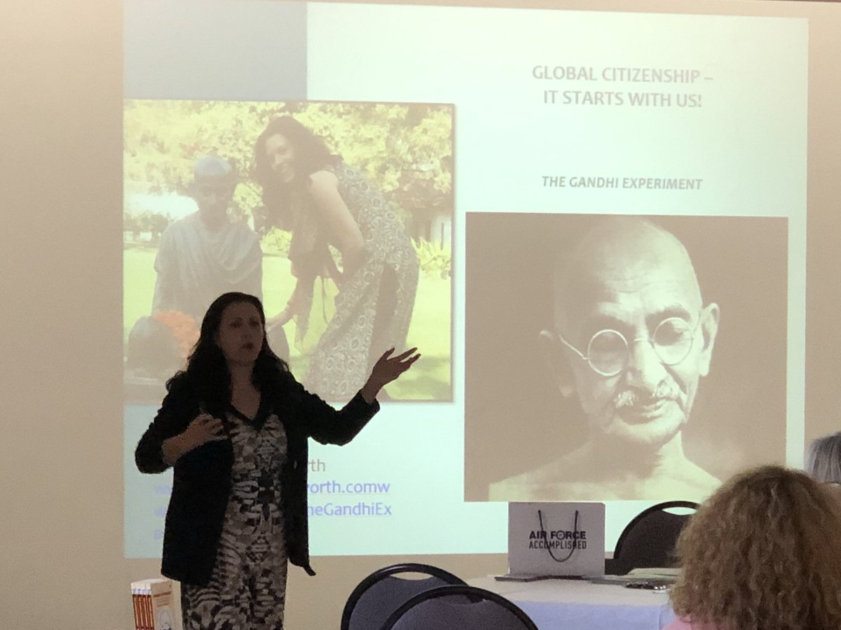 test Twitter Media - @Marghepworth teaching us about Global Citizenship #ACSSeminars!   Thank you to Margaret for kindly donating 8 copies of her book The Gandhi Experiment as prizes across all our events this year, an amazing book with a wonderful message! https://t.co/GOQNP0C9ed