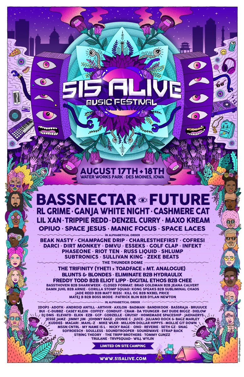 August 18th @515AliveFest