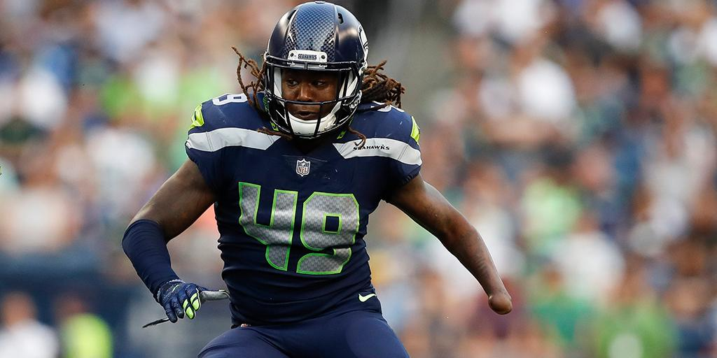 Nine tackles. Six solo tackles. One TFL.  @Shaquemgriffin had himself an #NFLPreseason debut:  http:// on.nfl.com/XdJvz2  &nbsp;  <br>http://pic.twitter.com/YocPjWysBK