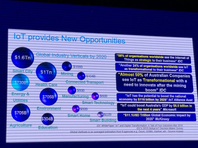 #IoT new opportunities. So many options and opportunities for students #T4LAwards Photo