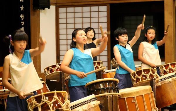 「海道東征」和太鼓で奉納 北海道の開拓功労者を祀った開拓神社例祭で15日に披露 sankei.com/entertainments…