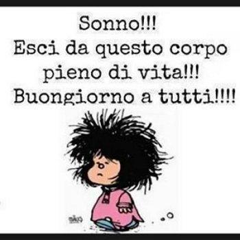 Carmen jara on twitter mafalda dai forza dopo se dorme for Vignette buongiorno simpatiche
