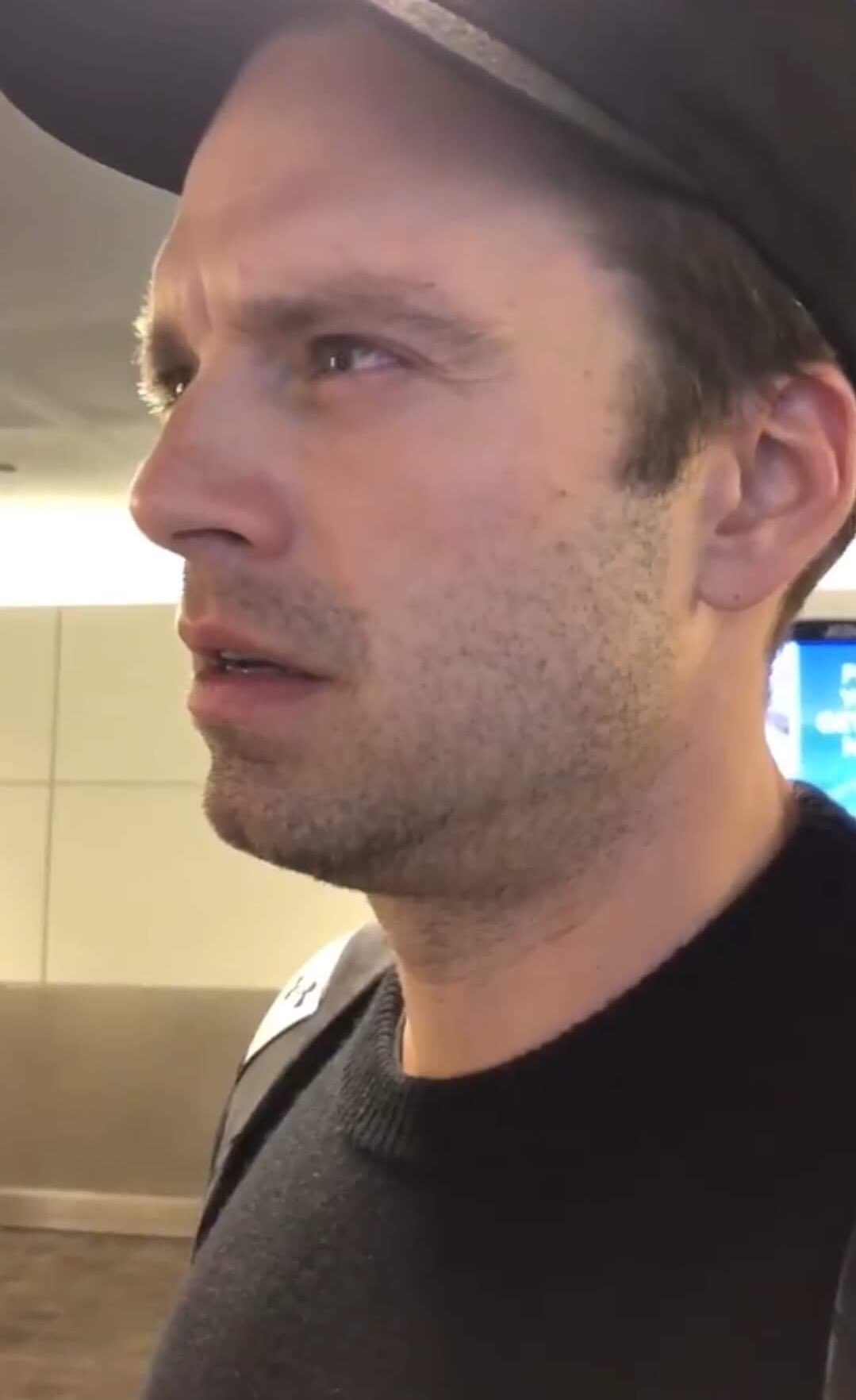 Never a dull day to stan Sebastian Stan  Happy birthday you not-tired-just-36 cutie