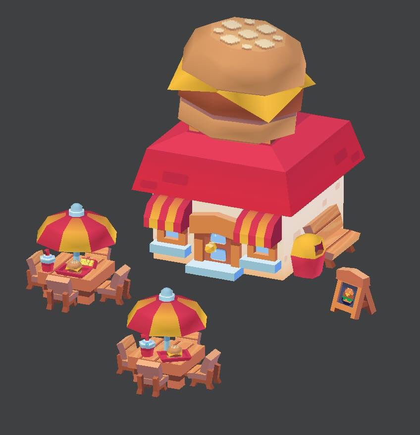 Man it's been 2 years since I started Post Haste.... really gotta get back and finish it up! #lowpoly #blender #3d #blender3d<br>http://pic.twitter.com/D9fSPDXayo