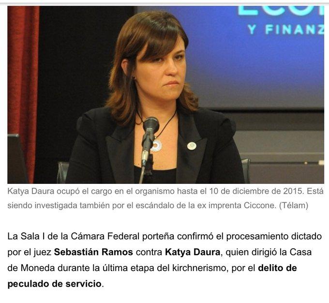 #SemanaHistórica No se olviden de Katia Daura, la amiga de Boudou afuera !!! #PPT Foto
