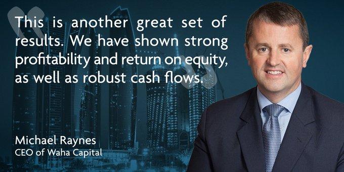 @WahaCapital net profit rises 31% to AED Photo