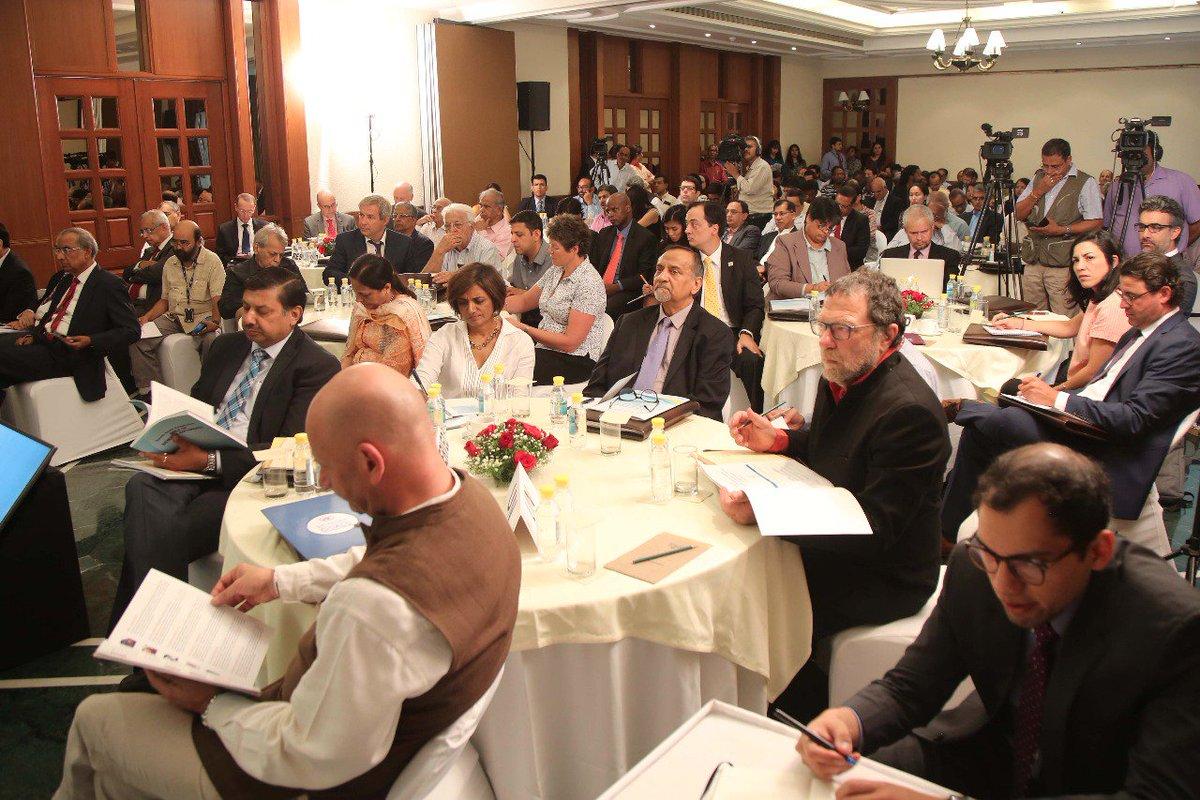 A fruitful Inaugural session with lots of policy dialogue #SSC BAPA+40, #TriangularCooperation , #multilatrism #globalization @Sachin_Chat @AmbMoKumar @SecretaryEr @MEAIndia @mfespinosaEC @AmitavAcharya @UNOSSC @UNinIndia