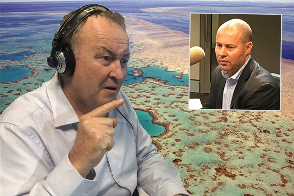 You're lying Josh! @chrissmithradio slams @JoshFrydenberg over insane reef grant Photo