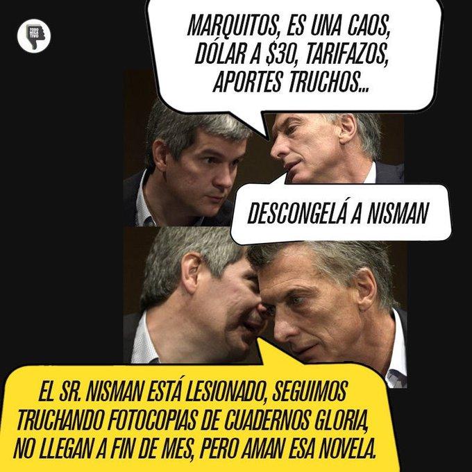 @juancabandie Se filtró una charla entre Mauricio y ampliaremos! #DictaduraM Foto