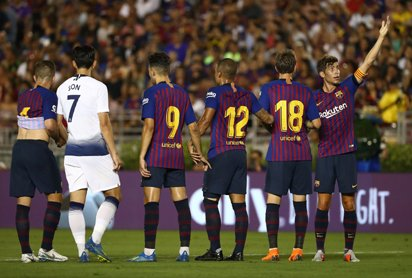 Sevilla vs Barcelona : How Lionel Messi got a winning start===has been published on Vanguard News - Foto