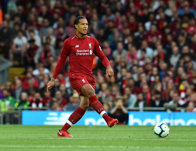 """""""The size of the club and the history of the club deserves something. Virgil van Dijk has spoken👇 Photo"""