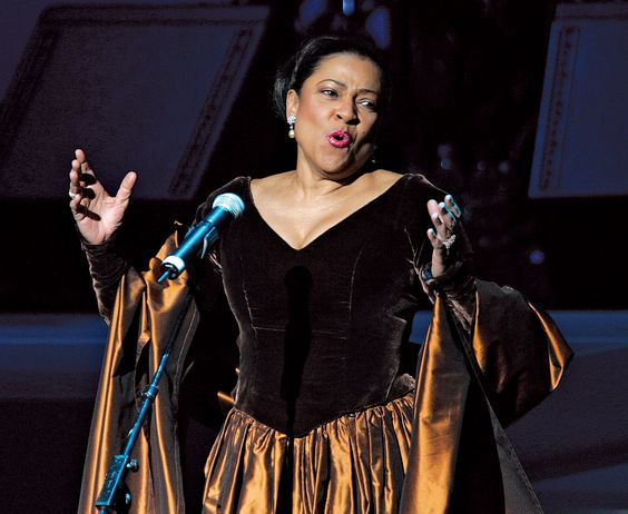Eternal souce of divine inspiration! Happy Birthday Kathleen Battle!