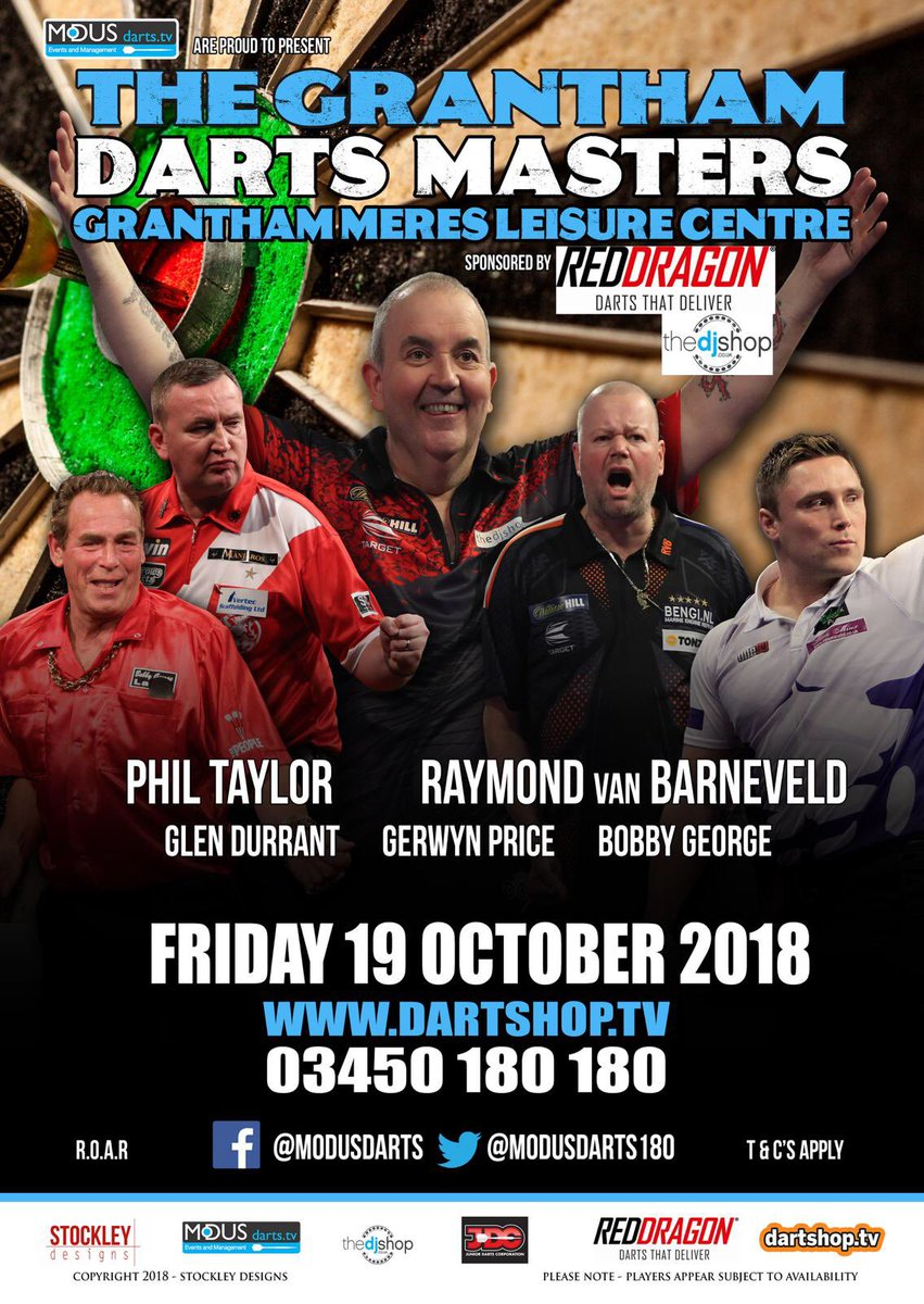 Come see my play @PhilTaylor !!!