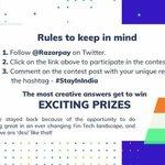 #StayInIndia Twitter Photo
